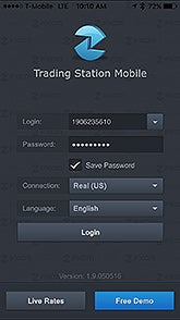 Trading Station Mobile Login