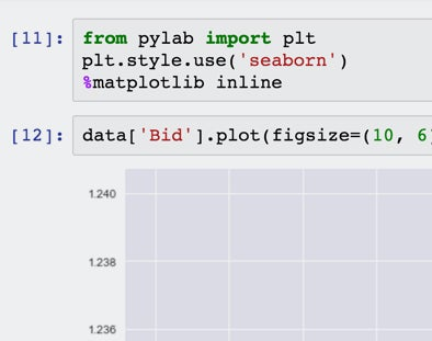 Python FXCM Connect