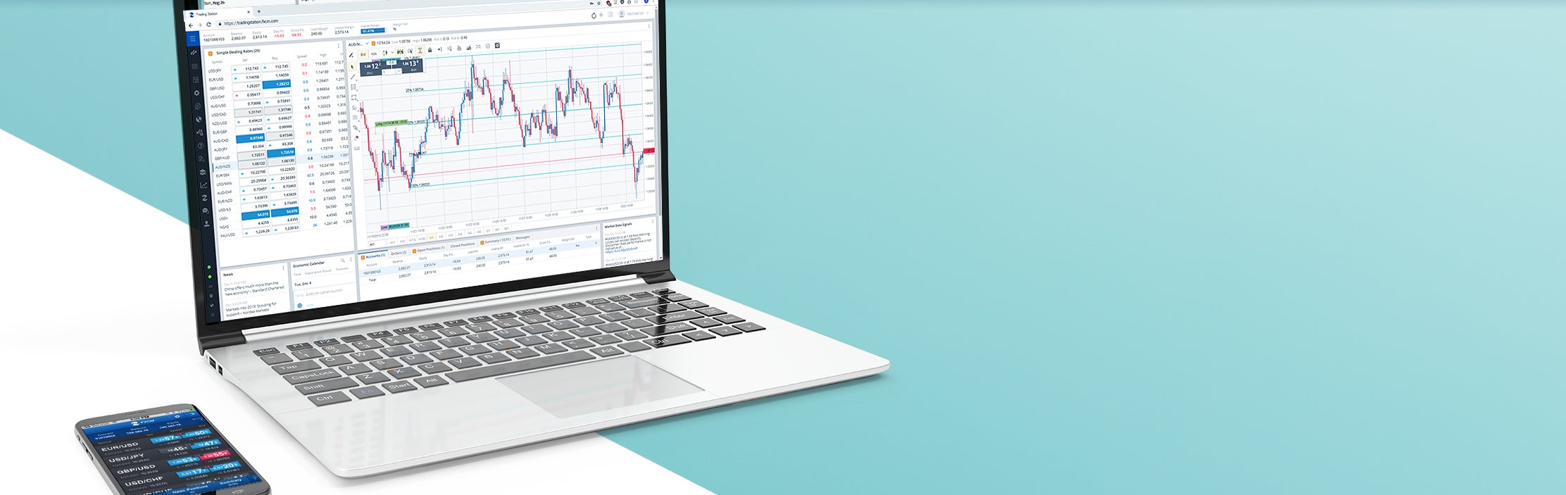 Forex trading station