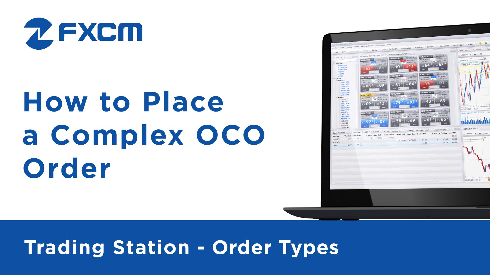 Complex OCO Orders