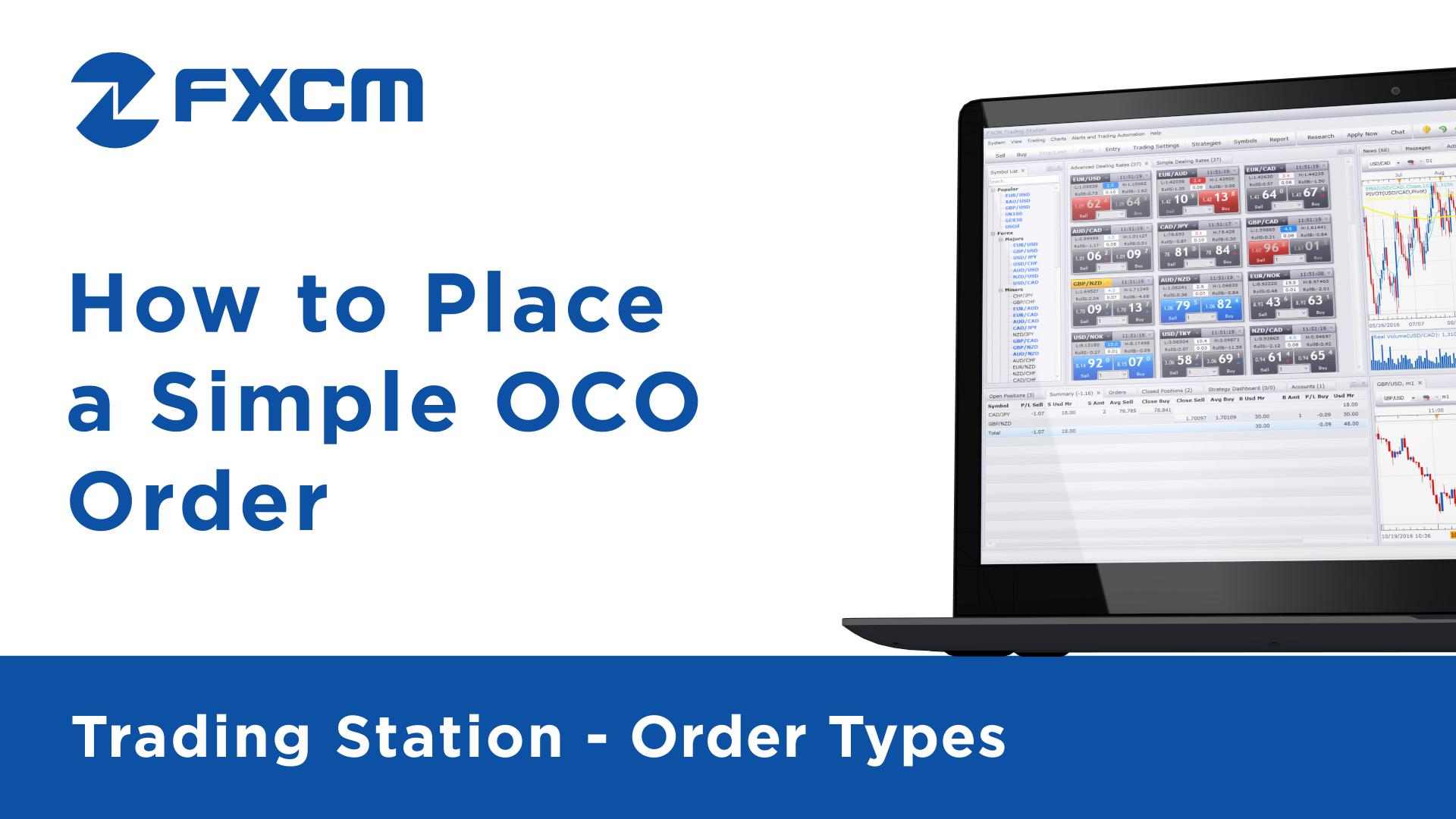 Simple OCO Order